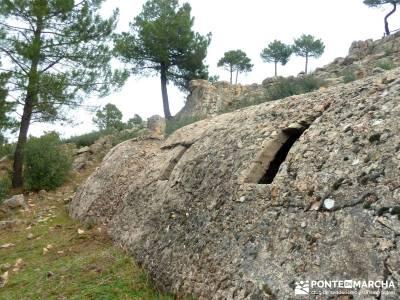 Pinares, Riscos y Atalayas; rutas para caminar; pasear por madrid